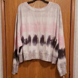 Flirtitude Active TieDyed Crop Sweatshirt Size 2X